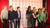 Sidaction 2016 : tapis rouge soirée de lancement au Musée du quai Branly : pose photos et interviews