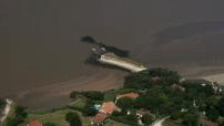 Aerial View Meschers sur Gironde