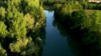 Vues Aériennes la Seine en Champagne-Ardenne