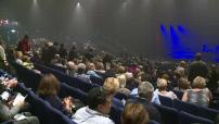 Charles Aznavour en concert à Paris