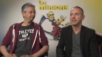 """Cinéma """"Les minions"""" : Interview Pierre Coffin et Kyle Balda / Guillaume Canet et Marion Cotillard"""