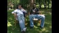 """Interview Omar Sy et Jean Paul Rouve pour la sortie du film """"Nos jours heureux"""""""