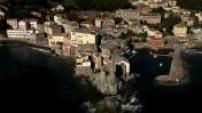 Vues aériennes d'Erbalunga, Brando, Cap Corse.