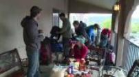 Espace : entrainement de Thomas PESQUET au Nouveau Mexique