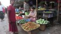 Street scenes in Sittwe in Burma 02