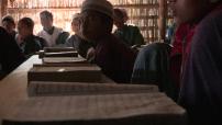 école coranique de Rohingyas près de Sittwe, Birmanie 01