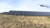 Illustrations centrale photovoltaïque de Crucey