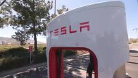 Cartes postales : Los Angeles - Essai Tesla S P85D