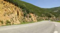 Essai BMW Série 1 / Série 2 Cabriolet + illustr cartes postales côtes en Corse du sud