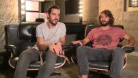 Interview des Frero Delavega à l'occasion de leur concert à l'Olympia