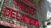 Concert des Frero Delavega à l'Olympia : lettres rouges + répétition + extrait concert