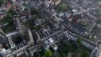 Vues aériennes: région nord pas de calais - Le beffroi d'Arras