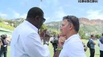 Football: Jubilee Jean Tigana in Cassis
