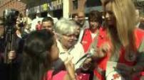 Adriana Karembeu lance les journées nationales de la Croix-Rouge à Toulouse