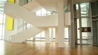 Intérieur et oeuvres de la Fondation Louis Vuitton