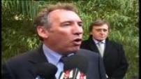 Presidential 2007: Francois Bayrou in Nimes