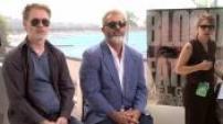 """interview de Jean-François Richet et Mel Gibson à Cannes pour le film """"Blood Father"""" (Junket)"""
