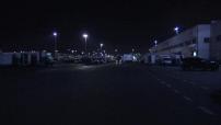 Illustrations du pavillon de la Mer au MIN de Rungis de nuit