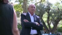 Gérard Collomb, soutien d'Emmanuel Macron pour 2017