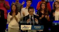 Meeting de Nicolas Sarkozy à Poissy