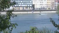 Illustrations de Lyon : pistes cyclables + quartier Confluence