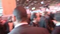 visite Jacques Chirac dans une ambiance de cohue indescriptible