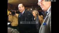 Presidential campaign in 1st round Chirac in Sarran