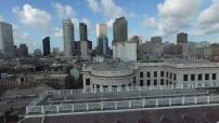 Vues aériennes par drone de la Nouvelle Orleans