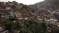Aerial drone of the Rio de Janeiro bay