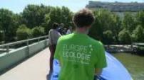 Elections européennes : campagne d'Europe Ecologie Les Verts
