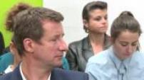Conférence de presse de Yannick Jadot candidat Europe Ecologie Les Verts à la présidentielle 2017