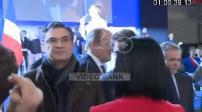 Présidentielle 2017 / Candidature de François Fillon : meeting à Paris - Pénélope Fillon apparaît aux côtés de son mari