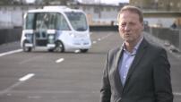 CES: Itw Christophe Sapet, Navya CEO / Autonom shuttle