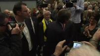 Présidentielle 2017 : meeting de François Baroin à Toulouse pour soutenir le candidat François Fillon