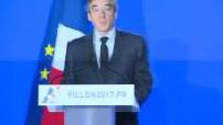"""images M6 Pénélope Gate : conférence de presse de François Fillon """"je ne me rendrai pas et assassinat politique..etc"""""""