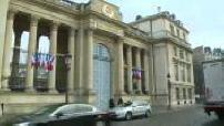 """Réactions de """"Les Républicains"""" en sortant de l'Assemblée Nationale sur l'affaire Fillon et l'affaire Solère"""