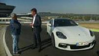 Trays the universe Porsche the Porsche Panamera S Hybrid 4