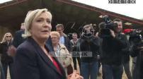 Marine Le Pen campaign in Britain (1/4)