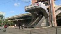 Grève SNCF : illustrations voyageurs dans les gares de Lyon Perrache et Lyon part dieu