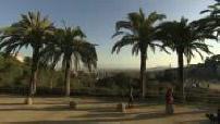 Barcelone vue depuis le parc Guell