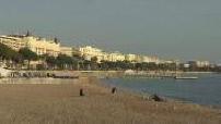 Plage de Cannes + Hotel Majestic Barrière