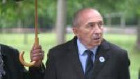 Cérémonie du 8 mai au parc de la Tête-d'Or à Lyon avec Gérard Collomb