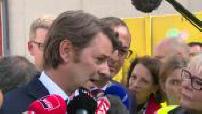 """Elections législatives 2017 François Baroin tacle le mouvement """"La République en marche"""" lors d'un déplacement dans le Nord"""