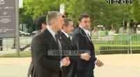 Candidature de Paris pour les JO de 2024 : arrivées des sportifs francais au Petit Palais pour un dîner de gala