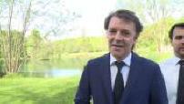 Visite de François Baroin à Sommedieue, réaction suite à l'annonce du gouvernement