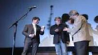"""Tom Cruise et Robert Redford à l'avant-première parisienne de """"Lions et Agneaux"""""""
