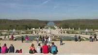 Illustrations des allées du château de Versailles 1/2