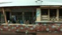 Travelling dans les rues de Nsawam, au sud du Ghana