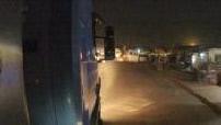 Caméra embarquée sur un camion de livraison au Ghana