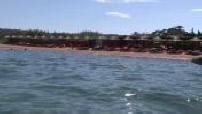Plage du restaurant Maora Beach en Corse